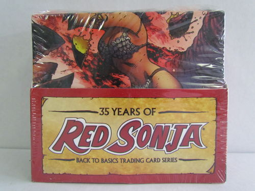 Dynamic Forces Red Sonja 35th Anniversary Trading Cards Box