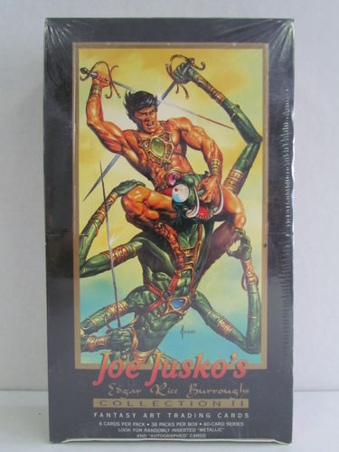 FPG Joe Jusko's Edgar Rice Burroughs Collection II Trading Card Box