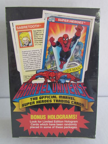 Impel Marvel Universe Series 1 Hobby Box