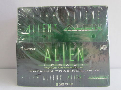 Inkworks Alien Legacy Cards Box