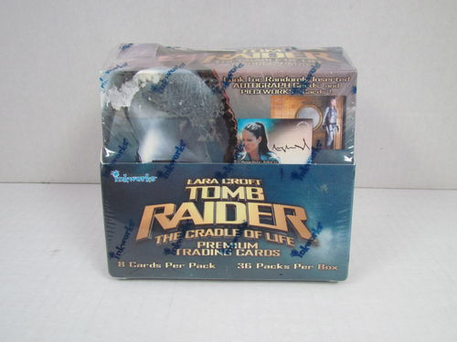 Inkworks Lara Croft Tomb Raider The Cradle of Life Trading Card Box
