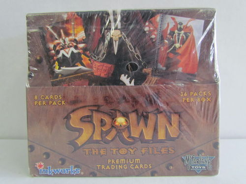 Inkworks Spawn the Toy Files Trading Cards Box