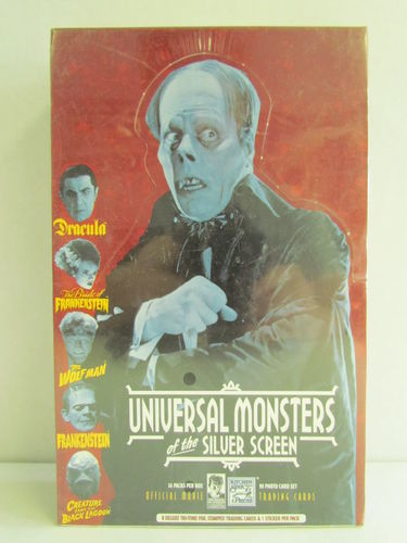 Kitchen Sink Universal Monsters of the Silver Screen Movie Cards Box