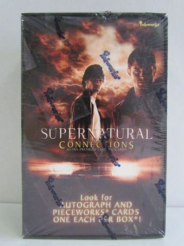 Inkworks Supernatural Connections Cards Hobby Box