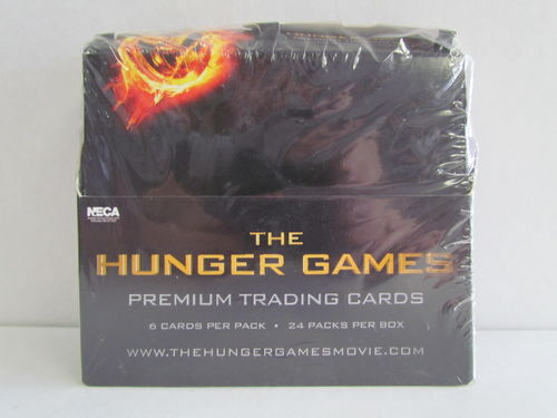 NECA Hunger Games Movie Cards Box