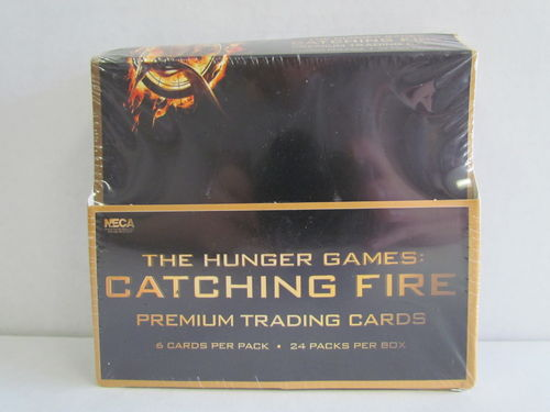 NECA Hunger Games Catching Fire Movie Cards Box