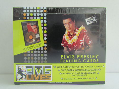 Press Pass Elvis Lives Hobby Box