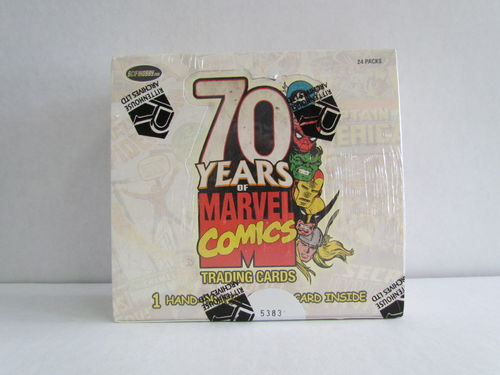 Rittenhouse 70 Years of Marvel Comics Trading Cards Box