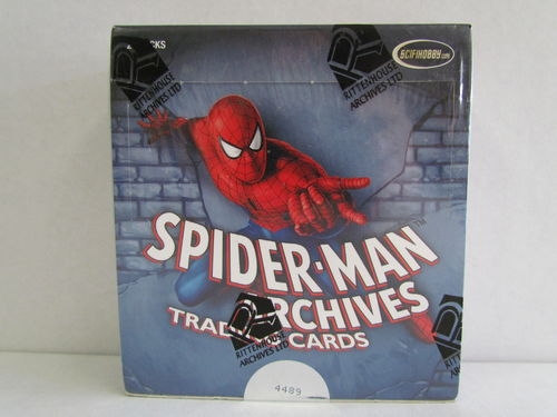 Rittenhouse Spider-Man Archives Trading Cards Hobby Box