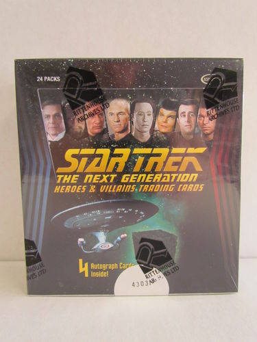Rittenhouse Star Trek The Next Generation Heroes & Villains Hobby Box