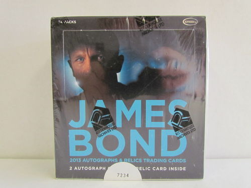 Rittenhouse James Bond 2013 Autographs and Relics Box