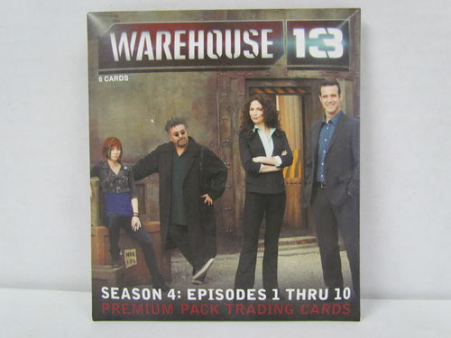 Rittenhouse Warehouse 13 Season 4: Episodes 1-10 Premium Pack