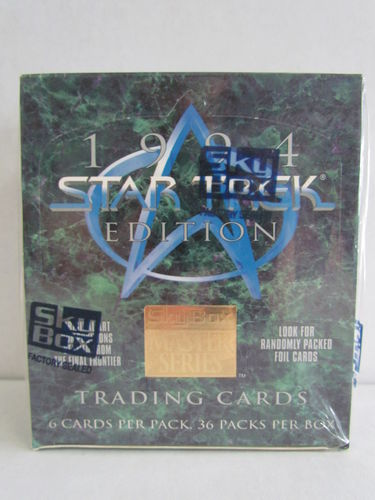 SkyBox Star Trek Masters Series 1994 Hobby Box