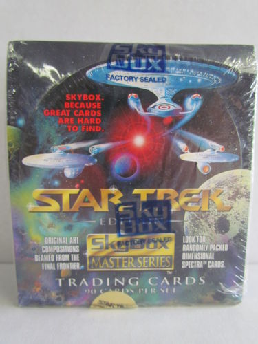 SkyBox Star Trek Masters Series 1993 Hobby Box