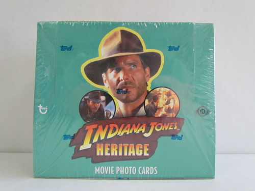Topps Heritage Indiana Jones Hobby Box