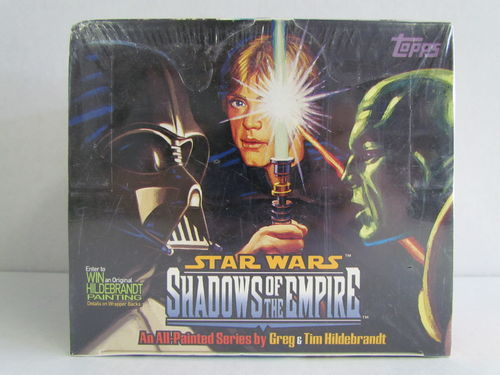 Topps Star Wars Shadows of the Empire Hobby Box