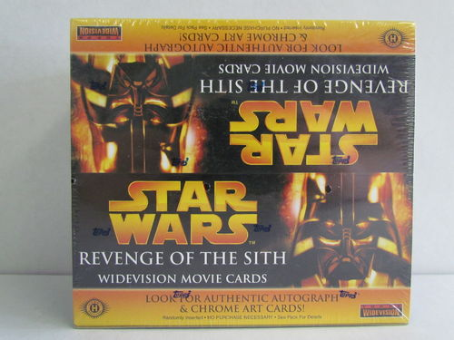 Topps Star Wars Revenge of the Sith Widevision Movie Cards Hobby Box