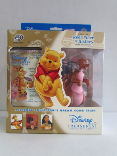 Upper Deck Disney Treasures Collectible Cards and Kanga Figure Box