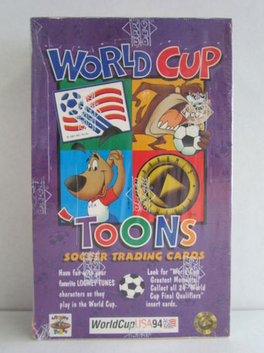 Upper Deck 1994 World Cup Toons Cards Box