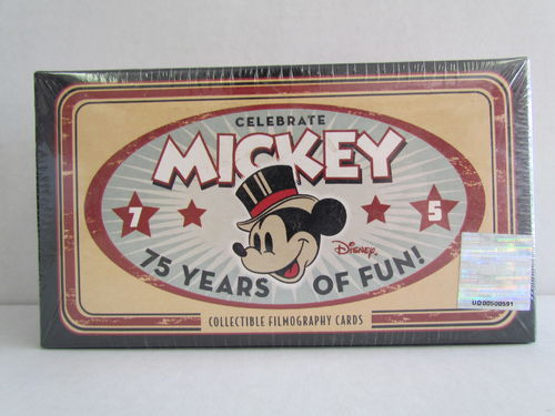 Upper Deck Celebrate Mickey Filmography Card Set
