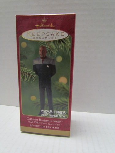 Hallmark Star Trek Deep Space Nine CAPTAIN BENJAMIN SISKO Keepsake Ornament