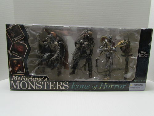 McFarlane's Monsters Icons of Horror 3 Pack Box Set