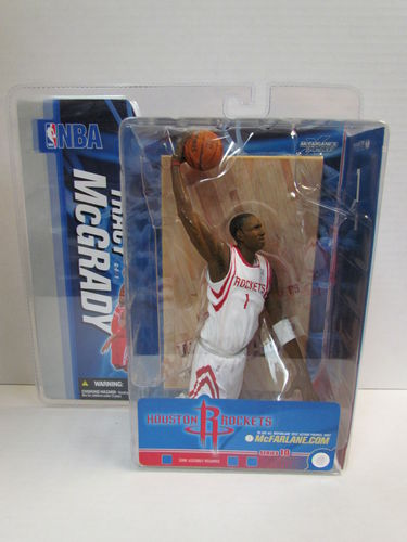TRACY MCGRADY McFarlane NBA Series 10 White Jersey Variant