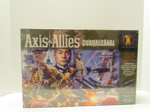 Axis & Allies Guadalcanal Board Game