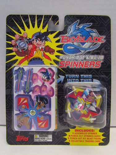 Topps Beyblade Punch-out & Build Spinners