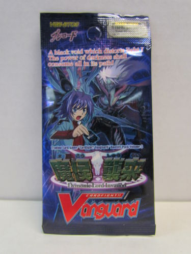 Cardfight!! Vanguard Demonic Lord Invasion Booster Pack VGE-BT03