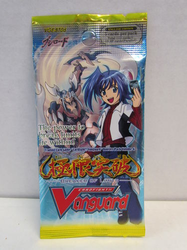 Cardfight!! Vanguard Breaker of Limits Booster Pack VGE-BT06