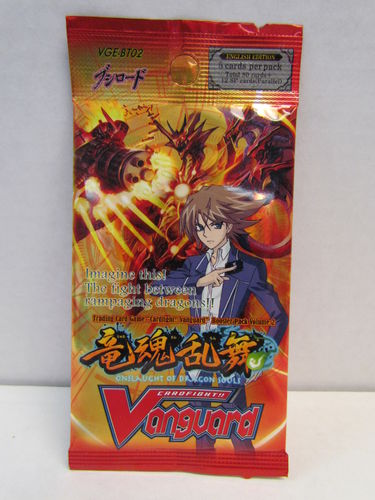 Cardfight!! Vanguard Onslaught of Dragon Souls Booster Pack VGE-BT02