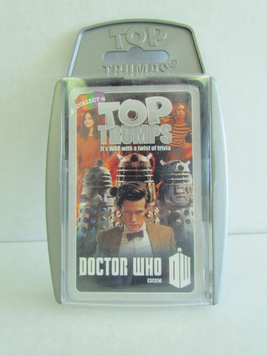 Doctor Who Top Trumps 6 (Gray) War Game