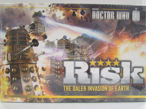 Risk DOCTOR WHO The Dalek Invasion of Earth Game