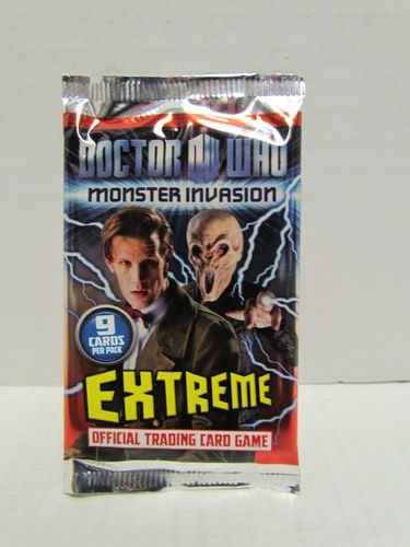 Doctor Who Monster Invasion Extreme Booster Pack