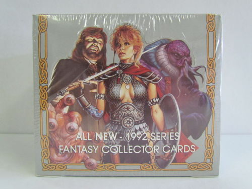 1992 TSR Advanced Dungeons and Dragons Fantasy Collector Card Silver Box