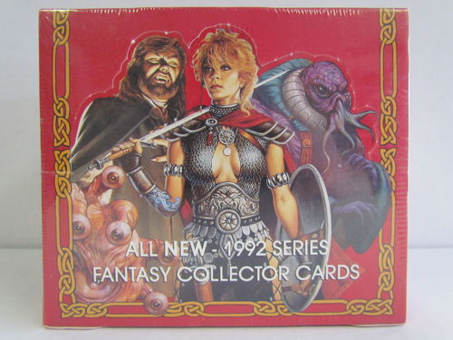 1992 TSR Advanced Dungeons and Dragons Fantasy Collector Card Red Box