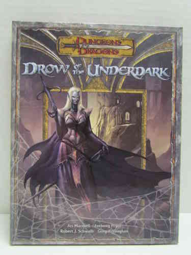 Dungeons & Dragons: Drow of the Underdark d20 3.5