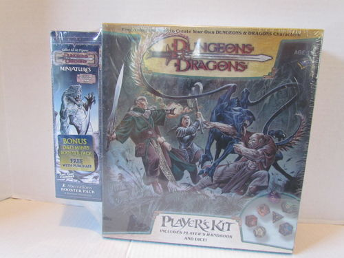 Dungeons & Dragons Miniatures Player's Kit