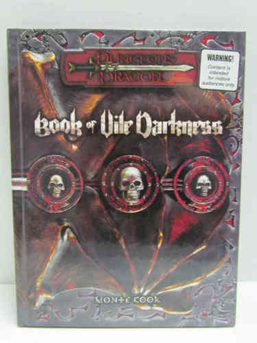 Dungeons & Dragons: Book of Vile Darkness d20 3.5