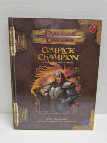 Dungeons & Dragons: Complete Champion d20 3.5