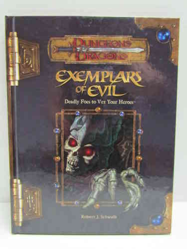 Dungeons & Dragons: Exemplars of Evil d20 3.5