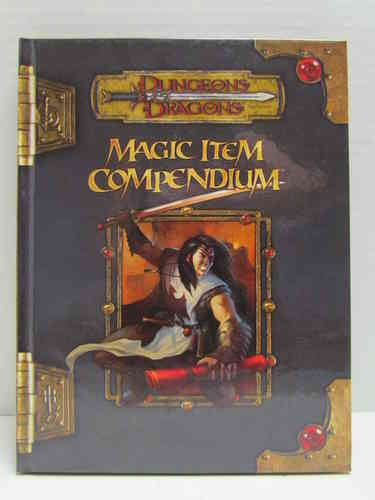 Dungeons & Dragons: Magic Item Compendium d20 3.5