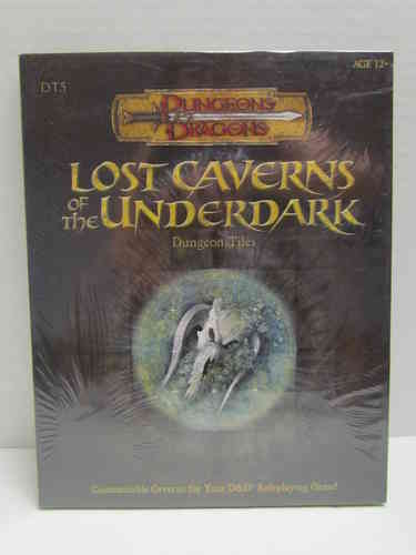 Dungeons & Dragons: Lost Caverns of the Underdark Dungeon Tiles d20 3.5