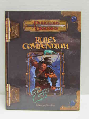 Dungeons & Dragons: Rules Compendium d20 3.5