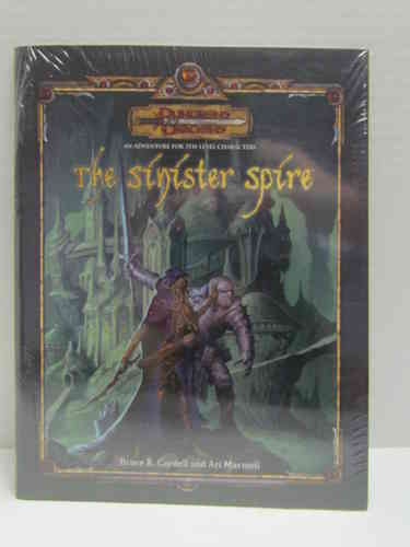 Dungeons & Dragons: The Sinister Spire d20 3.5