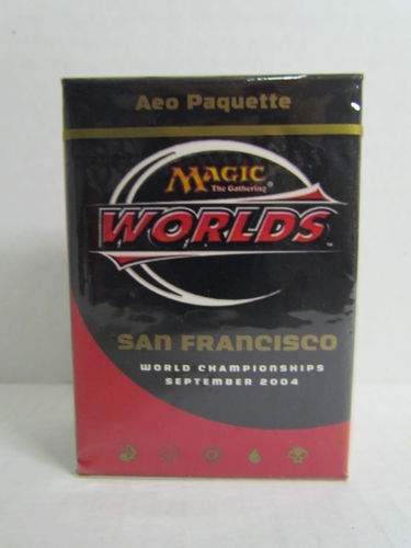 Magic the Gathering 2004 World Championship San Francisco Deck Aeo Paquette