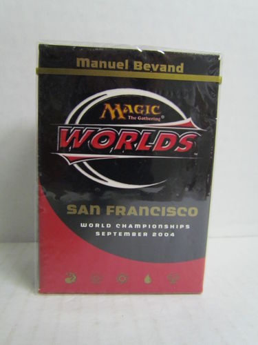 Magic the Gathering 2004 World Championship San Francisco Deck Manuel Bevand