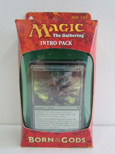 Magic the Gathering Born of the Gods Intro Pack INSATIABLE HUNGER