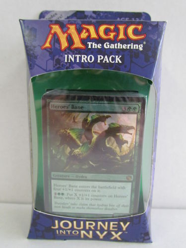 Magic the Gathering Journey Into Nyx Intro Pack THE WILDS AND THE DEEP